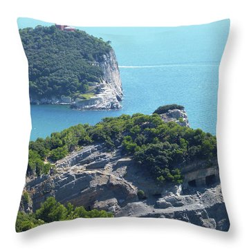 A Way To The Ocean Throw Pillow