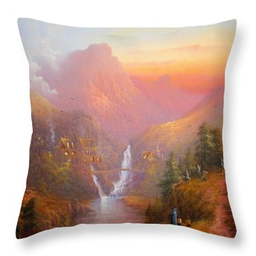 A Welcome Sight Throw Pillow