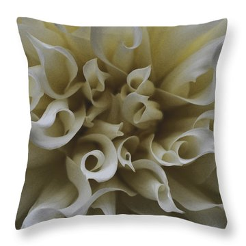 A Whiter Shade Of Pale Throw Pillow