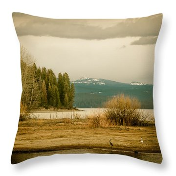 A Winter's Idyll Throw Pillow