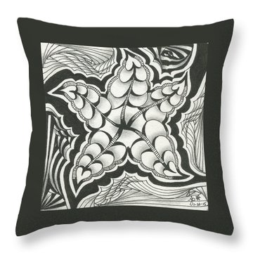 A Woman's Heart Throw Pillow
