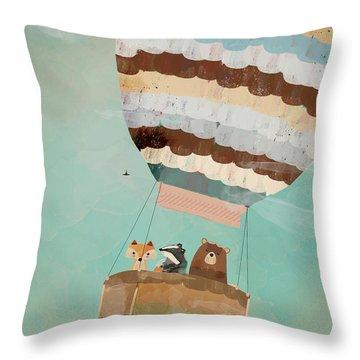 A Wondrous Little Adventure Throw Pillow