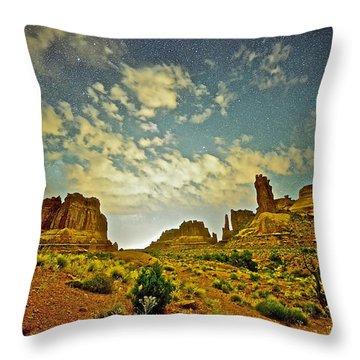 A Wondrous Night Throw Pillow