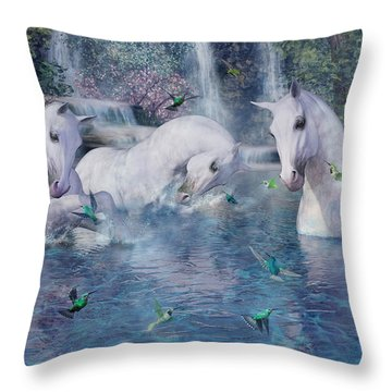 A World Beyond Throw Pillow