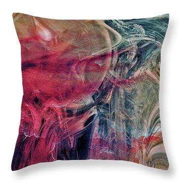 Throw Pillow featuring the digital art A World Beyond by Linda Sannuti