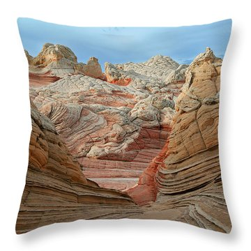A World In Turmoil Throw Pillow