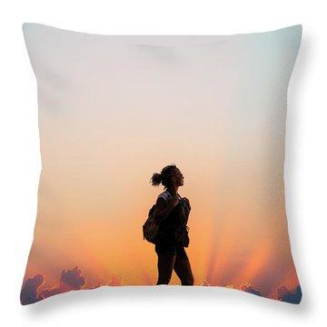 A World Of Adventure Throw Pillow
