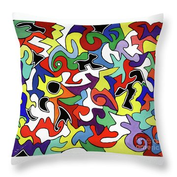 A Wren's Life Throw Pillow