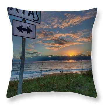A1a Sunrise Throw Pillow