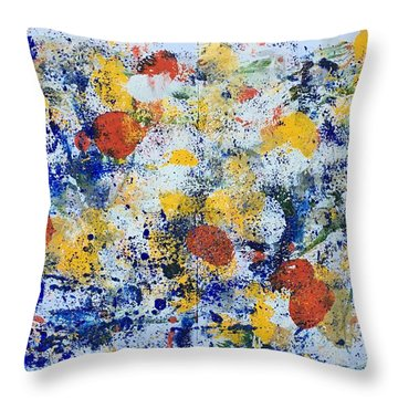 Michigan No 4 Throw Pillow