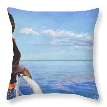 Abaco Dream Throw Pillow