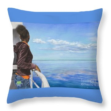 Abaco Dream Throw Pillow