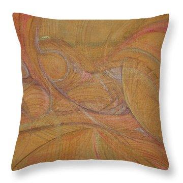 Abalone Throw Pillow by Caroline Czelatko