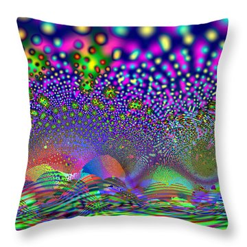 Abanalyzed Throw Pillow
