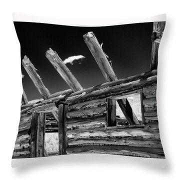 Abandon View Throw Pillow