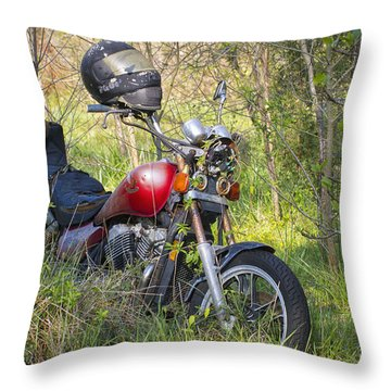 Abandoned And Forgotten Throw Pillow by Bob Decker