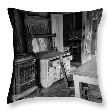 Abandoned And Weathered Throw Pillow