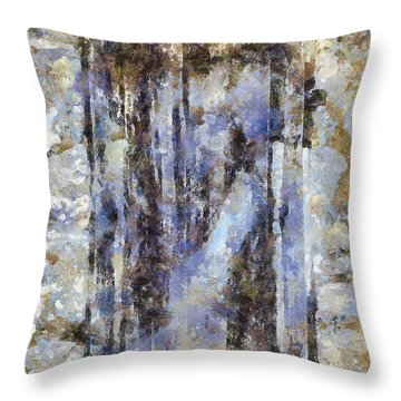 Abandoned Beauty Throw Pillow by Shirley Stalter