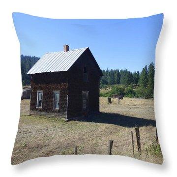 Abandoned But Not Forgotten Throw Pillow