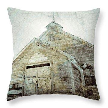 Abandoned Church 1 Throw Pillow