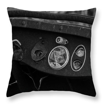 Abandoned Dreams Throw Pillow by Travis Burgess