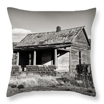Abandoned In Cuervo Throw Pillow