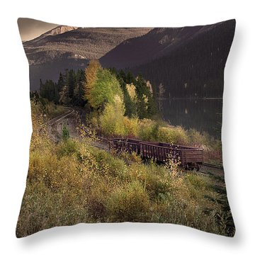 Abandoned  Throw Pillow by John Poon