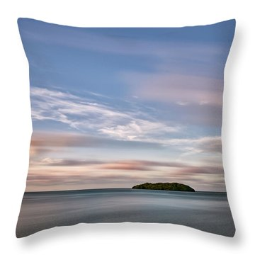 Throw Pillow featuring the photograph Abandoned Key by Jon Glaser