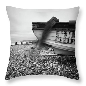 Throw Pillow featuring the photograph Abandoned Nn405 Pinhole Photo by Will Gudgeon
