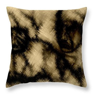 Abandoned Throw Pillow by Rafi Talby
