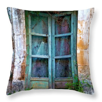 Abandoned Sicilian Sound Of Noto Throw Pillow