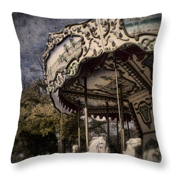 Abandoned Wonder Throw Pillow by Andrew Paranavitana