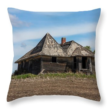 Abandoned2 Throw Pillow