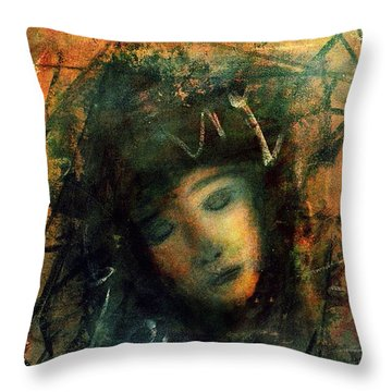 Abayence II Throw Pillow