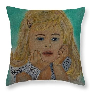 Abbey Throw Pillow by Rod Jellison