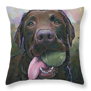 Abby Throw Pillow by Nadi Spencer