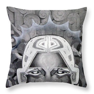 Abcd Throw Pillow