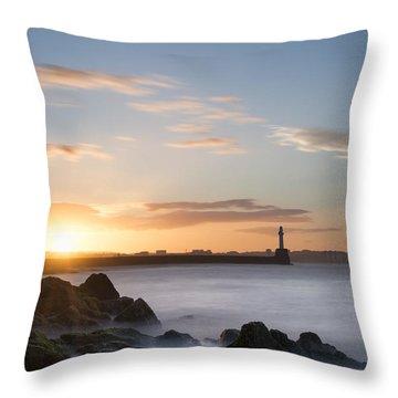 Aberdeen Sunset Throw Pillow