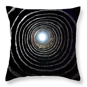 Throw Pillow featuring the photograph Aberdour Castle Dovecot by Jeremy Lavender Photography