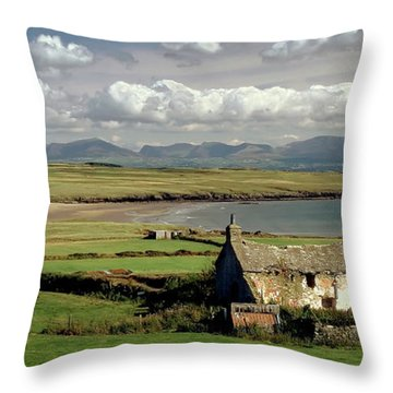 Aberffraw Isle Of Anglesey Throw Pillow