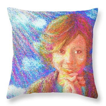 Abiding In Faith Throw Pillow