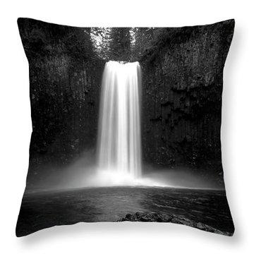 Abiqua's World Throw Pillow