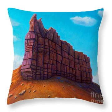 Abiquiu Throw Pillow by Brian  Commerford
