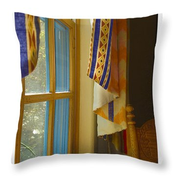 Abiquiu Window Throw Pillow