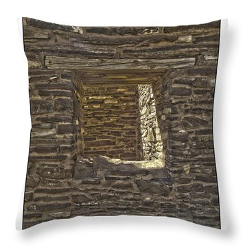 Abo Window Throw Pillow