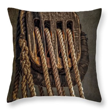 Aboard Throw Pillow