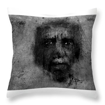 Aboriginal Throw Pillow by Jim Vance