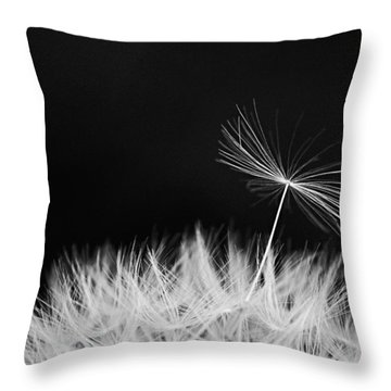 About To Leave Home Throw Pillow