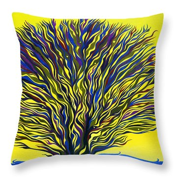 About To Sprout Throw Pillow