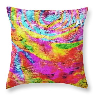 Above 1 Peter 4 Throw Pillow